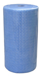 ANTIBACTERIAL HEAVY DUTY BLUE WIPES -ROLL