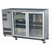 Skope BB380X - 2SW BACKBAR CHILLER 2 DOOR ( WHITE ) 380 LITRES. Weekly Rental $47.00
