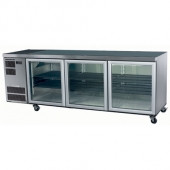 Skope CL600 - 3SW - COUNTERLINE 3 DOOR UNDERBENCH ( WHITE ). Weekly Rental $63.00