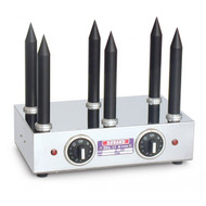 ROBAND M6T. HOT DOG UNIT AND BUN WARMER. 6 SPIKES. Weekly Rental $9.00