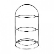 ROUND HIGH TEA STAND -3 TIER SMALL