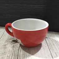 Red Cappuccino Cup - 210ml