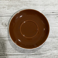 Brown Cappuccino Saucer -141mm