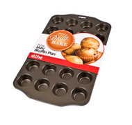 MINI MUFFIN TRAY -NON STICK 24cup