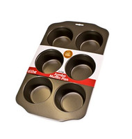 JUMBO MUFFIN TRAY -NON STICK -6cup