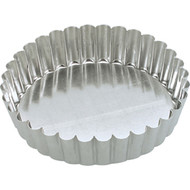 FLUTED DEEP QUICHE PAN -25cm LOOSE BASE