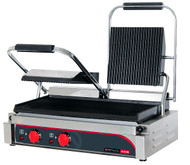Anvil TSS3001 15 AMP DOUBLE PANINI PRESS -FLAT TOP & BOTTOM PLATES. Weekly Rental $8.00