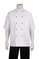 Macquarie Short Sleeve White Chef Coat