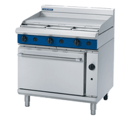 Blue Seal G506A GAS GRIDDLE  WITH STATIC OVEN. Weekly Rental $76.00