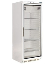 POLAR - CD087 - SINGLE GLASS DOOR DISPLAY FRIDGE - 400Litre. Weekly Rental $13.00