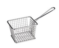 SMALL RECTANGULAR SERVING BASKET -118x98x78mm