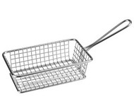 SMALL RECTANGULAR SERVING BASKET -160x102x50mm