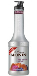 MONIN RED BERRY FRUIT PUREE