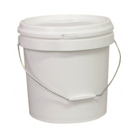WHITE BUCKET WITH LID -10Litre