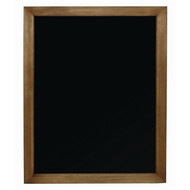 WOOD FRAMED CHALKBOARD - 80x60cm