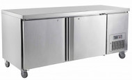 Saltas CUF1800 UNDERBAR FREEZER S/S DOORS 1800mm -491lt. Weekly Rental $34.00