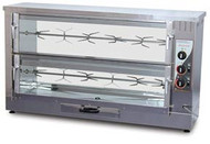 ROBAND R10. ROTISSERIE, 10 CHICKEN CAPACITY, 2 SPITS. Weekly Rental $32.00