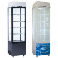 EXQUISITE CTD235 Single Door Display Fridge With Light Panel. Weekly Rental $16.00