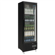 POLAR - GJ447-A BACK BAR DISPLAY COOLER - BLACK. Weekly Rental $12.00