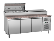EXQUISITE MTC363H. PIZZA/SANDWICH PREP CHILLER. Weekly Rental $47.00