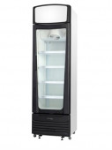 SKOPE SERENE SC400 - SINGLE GLASS DOOR UPRIGHT CHILLER - WHITE. Weekly Rental $16.00