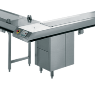 RIEBER GSV-3. 3000mm Food Distribution Conveyor Belt. Weekly Rental $237.00
