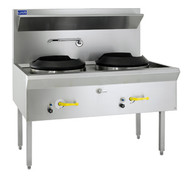 LUUS - WF-2C. TRADITIONAL WATER COOLED WOK. Weekly Rental $52.00