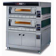 Moretti P110G A/2/L - Series P Gas Deck Pizza Oven & Prover. Weekly Rental $251.00