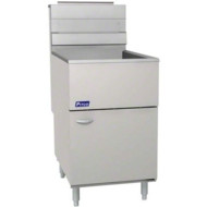 Pitco 65C+S Standard Tube Heated Gas Fryer. Weekly Rental $47.00