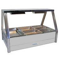 ROBAND E23RD - STRAIGHT GLASS HOT FOOD DISPLAY BAR. Weekly Rental $19.00