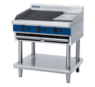 Blue Seal Evolution Series G596-LS - 900mm Gas Chargrill Leg Stand. Weekly Rental $48.00