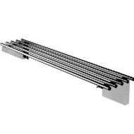 SIMPLY STAINLESS - SS11.2100 - PIPE WALL SHELF
