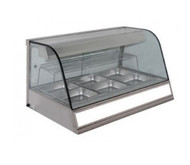 Woodson - W.HFH.24 - 4 BAY HEATED CHICKEN DISPLAY. Weekly Rental $66.00