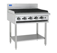 LUUS - BCH-9C - 900 MM WIDE GAS CHAR GRILL. Weekly Rental $49.00