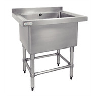 VOGUE - DN760 - DEEP POT SINK. Weekly Rental $6.00