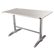 U432 - Double Pedestal Table Rectangular 600mm