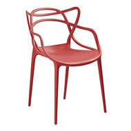 GH440 - Spaghetti Style Armchairs Red (Pack of 4)