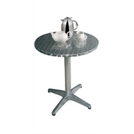 U426 - Round Bistro Table Stainless Steel 800mm