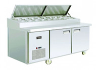 FSM - PB1875P - P Series 2 Door Refrigerated Preparation Unit. Weekly Rental $53.00