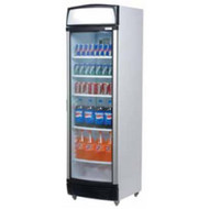 BROMIC - GM0440L - FLAT GLASS DOOR CHILLER WITH LIGHTBOX. Weekly Rental $27.00