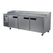 SKOPE - PG800 PIZZA -3 Door Pizza Chiller 2/1 Gastronorm Trays. Weekly Rental $154.00