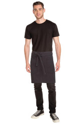 Rockford Steel Grey Half Apron