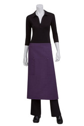 Harlem Purple 3/4 Apron