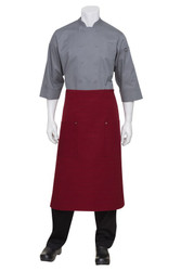 Harlem Red 3/4 Apron