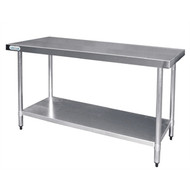 Vogue - T377 - Stainless Steel Prep Table 1500mm.