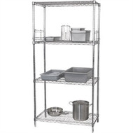 VOGUE - U258 -  4 Tier Wire Shelving Kit 1520x 610mm