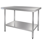 Vogue GJ504 Stainless Steel Prep Table 1800mm. Weekly Rental $6.00