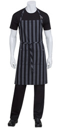 Cheasapeake Black Denim Bib Apron