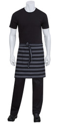 Chesapeake Black Denim Half Apron