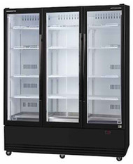SKOPE SKB1500N-A ActiveCore 3 Door Display Refrigerator. Weekly Rental $80.00